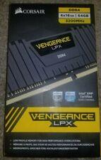 Corsair Vengeance LPX 64GB DDR4 DRAM 3200MHz C16 Memory Kit, Black
