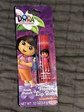 Lotta Luv Nickelodean Dora Explorer Flavored Fruit Punch Full Size Lip Balm