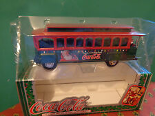 COCA COLA Diecast Metal Coin Bank With Santa B902 ERTL #2 IN SERIES MIB
