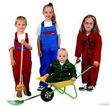 # Kinder Arbeitslatzhose mit Namen bestickt Blauman Arbeitshose Kombi hose