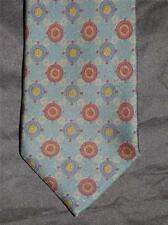 ETRO Green Silk Fully Lined Tie Spotless Immaculate