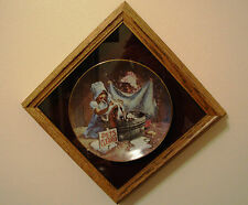 """Don Crook collector plate """"Tubs and suds"""" - Limited edition.Plate # 2433R"""
