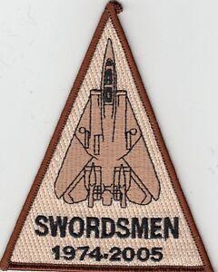 VF-32 SWORDSMEN DESERT 1974-2005 SHOULDER PATCH