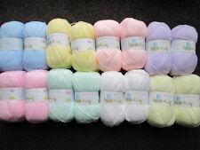16 x 100g Palline di James Brett Baby DK Misto Colori Pastello di filato/lana