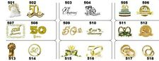 14 Personalized 50th Wedding Anniversary Votive Candle Labels Buy 2 Get 1