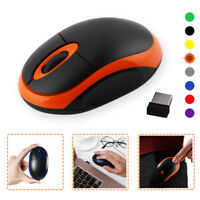 2.4GHz Mini Optical Mice Wireless Mouse Portable With USB Receiver For PC