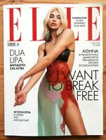 ELLE GREECE #376 MAY 2020 RARE GREEK EDITION DUA LIPA COVER AND GREAT PHOTOS