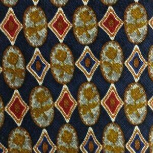 Blue Red Floral ZEGNA Silk Tie