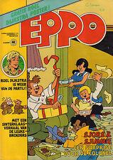 STRIPWEEKBLAD EPPO 1977 nr. 48 - POSTER ROEL DIJKSTRA / STORM / FRANKA/AGENT 327