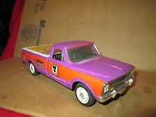 67 chevy pickup 1967 TEDD CYCLE V-TWIN TRUCK DIECAST LIBERTY CLASSIC bank loose