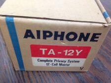 Aiphone TA-12Y 12-Call Privacy Handset Intercom NEW