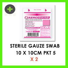 x2 Sterile Gauze 10 x 10cm  PKT 5