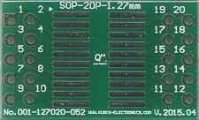 """SO20,SOP20,SOIC20 1.27mm(0.05"""") naar 2 x IDC2x5 connector. [NL]"""
