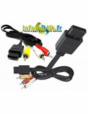 Cable Audio Video A/V - RGB Pour GameCube, Super Nes et Nintendo 64 N64