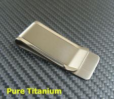 Puro Titanio Clip de Dinero Clip de tarjeta de crédito tarjeta de identificación Clip Holder