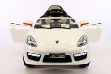 Kiddie Roadster 12V Kids Electric Ride-On Car with R/C Parental Remote | White
