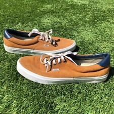 Vans Beige Canvas Skateboard Sneaker Shoes Mens Size 13