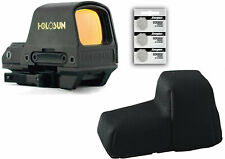 HOLOSUN Hs510c 2 MOA Circle Red Dot Sight w/Sight Cover and 3 Extra Batteries