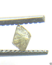 0.20CTS OCTAHEDRON UNCUT NATURAL TRANSPARENT ROUGH DIAMOND 3.26-4.05 MM