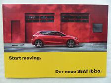 Seat Ibiza FR Xcellence MJ 2017 - Prospekt Brochure 04.2017