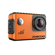 "SOOCOO S100 Action Sports Camera 2.0"" 4K 24fps Wifi Built-in Gyro 30M Waterproof"