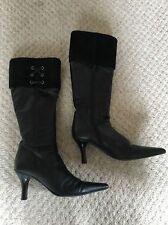 Clarks Zip High Heel (3-4.5 in.) Cuban Boots for Women