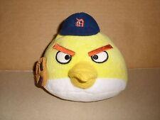 Yellow Angry Birds Detroit Tigers Baseball Plush Genuine MLB Merchandise