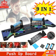 9 in 1 Push-up Board Stand Fitness Workout Gym Chest Muscle Training Exercise UK