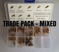 Radiator BLEED SCREW AIR / VALVE VENT - ASSORTED TRADE PACK - 8 x 5 TYPES (40)