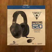 New Turtle Beach Ear Force Stealth 520 Wireless Gaming Headset for PS 4 and PS 3