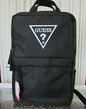 Guess Logo Backpack Laptop Protection Luggage Commuter Travel School Bag NWT