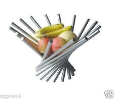 NEW ARRIVAL Stainless Steel Vortex fruit basket Plate Rack Tray Bowl rotation OZ