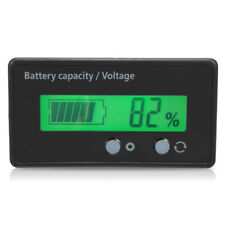 Volt meter LCD Meter Indicator 6v-63v 12v,24v,36v,48v 2s-15s Lithium Ion Battery