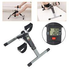 Mini Pedal Stepper Exercise Bike Exerciser Fitness Cycle Leg Arm Office Desk Gym