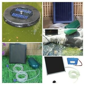 PondXpert SolarAir Solar Powered Pond Air Pumps - @ BARGAIN PRICE!!!