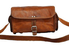 SUPERB Vintage Handmade Genuine Leather Shoulder Office Duffel Travel Bag G64