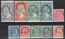 ALBANIA 1928 STAMP Sc. # 227/30 AND 232/7 MH