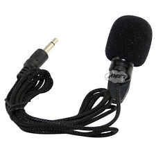 New 3.5mm Mini Lapel Clip Microphone for PC Notebook Laptop Tablet Hands Free