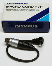 Olympus OM-système MACRO Cord f7p pour le om-707