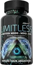 Limitless Pills 20ct Bottle Atomixx Blend | Mood Focus Anti Anxiety Stress Free