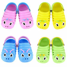 Kids Girls Boys Sandals Slippers Beach Clogs Pumps Caterpillar Shoes Breathable
