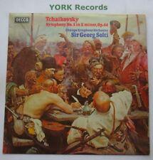 SXL 6754 - TCHAIKOVSKY - Symphony No 5 SOLTI Chicago Symphony O - Ex LP Record