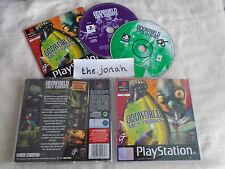 Oddworld Abes Exoddus PS1 (COMPLETE) exodus rare black label Sony PlayStation