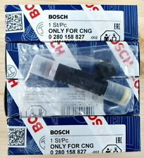 4pcs Genuine BOSCH New Fuel Injector 160lb 1700cc 0280158827 High Impedance Ford