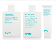 Evo The Therapist Calming Shampoo and Conditioner 300ml and The Great Hydrator M