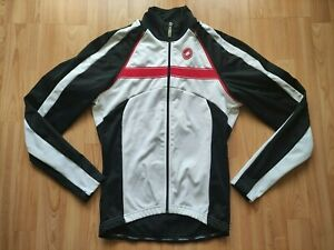 Castelli 2in1 Convertible Men's Gore Windstopper Cycling Jacket/Vest Size:M NEW!