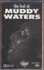 New Sealed Cassette Best of Muddy Waters MCA/Chess Iconic Chicago Electric Blues