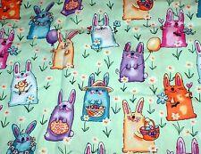 NEW Scrubs ~ Print Scrub Jacket ~ 4X ~ Easter Bunny
