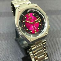 Mens New Watch Orient SK Sea King Crystal KD King Diver Red Dial Watch SERVISED