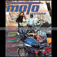 MOTOCYCLISME N°55-b YAMAHA RD 250 125 TRIAL MONTESA COTA CIMATTI ROUGERIE 1974